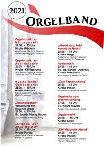 Havelländisches Orgelband @ Dorfkirche Pessin